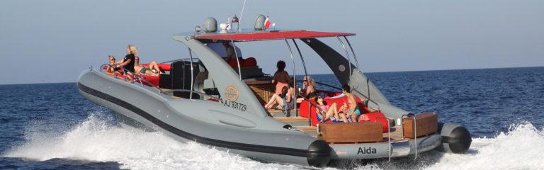 Aida bateau de location Corse Sardaigne