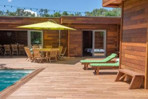 location villa bois porto-vecchio terrasse