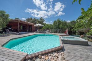 location villa bois porto-vecchio piscine