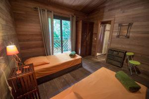 location villa bois porto-vecchio chambre 2