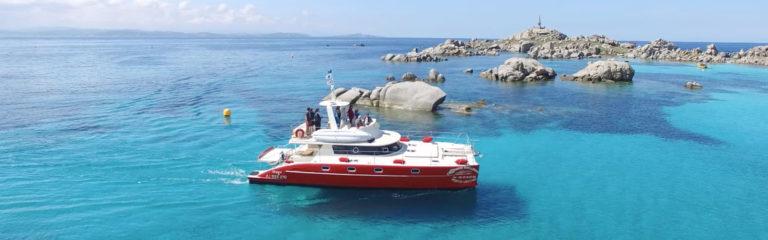 orgone catamaran bateau de location Corse Sardaigne